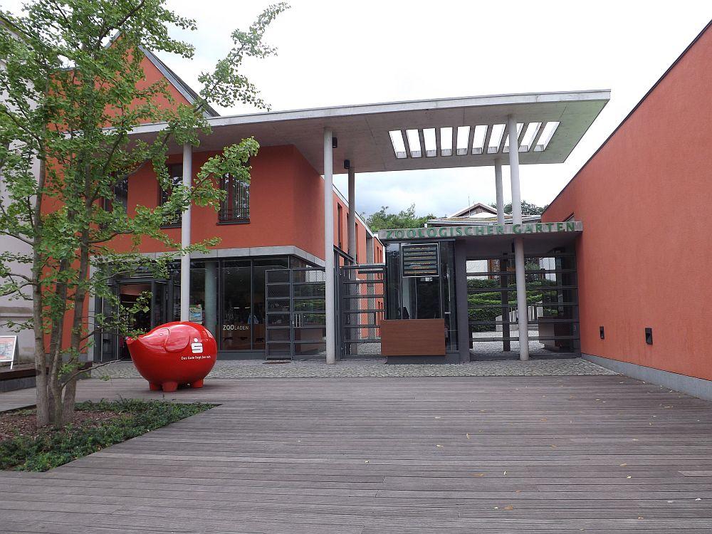Zooeingang (Bergzoo Halle)