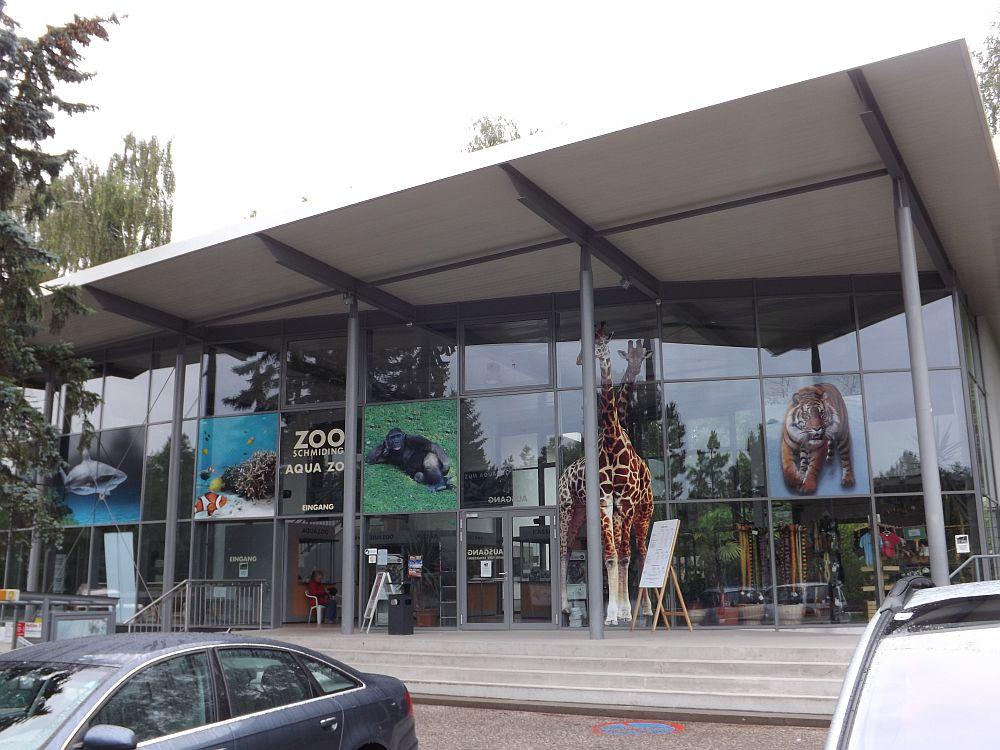 Eingang (Zoo Schmiding)
