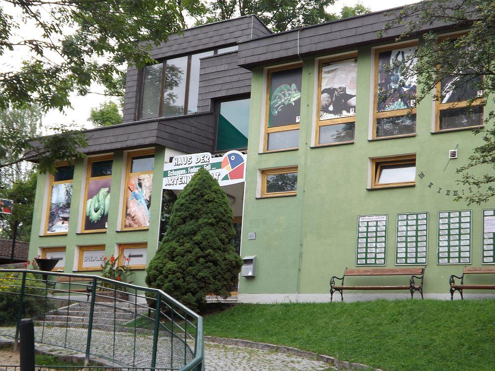 Haus der Artenvielfalt (Zoo Linz)