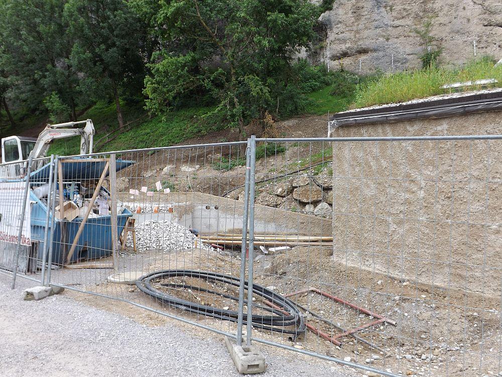 Jaguaranlage, Baustelle (Zoo Salzburg)