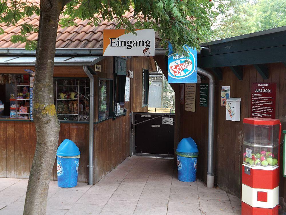 Eingang (Jurazoo Neumarkt)