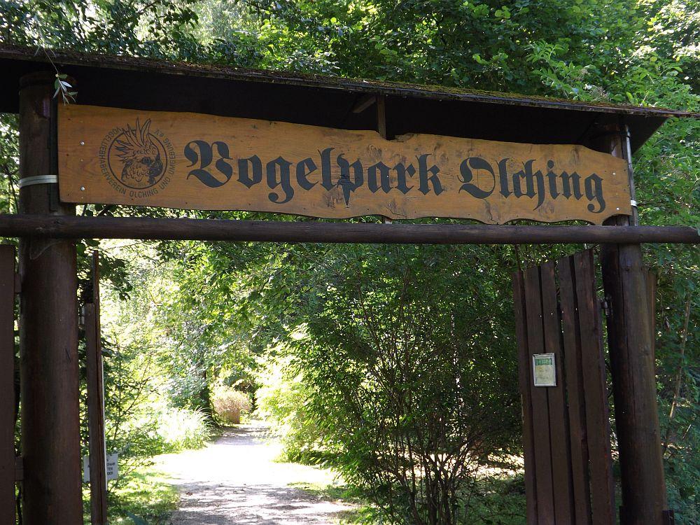 Eingang (Vogelpark Olching)