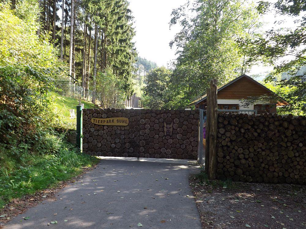 Eingang (Tierpark Suhl)