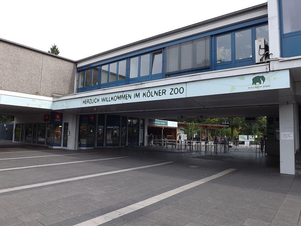 Eingang (Zoo Köln)