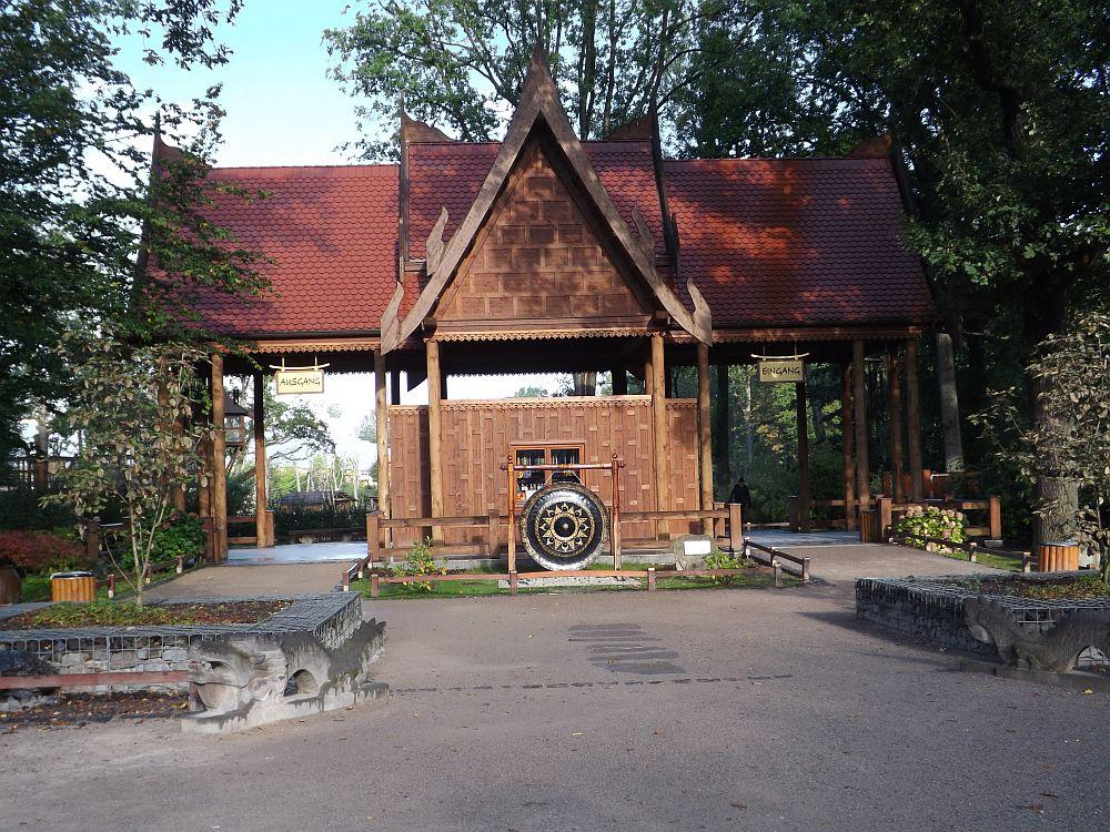 Eingang Erlebniswelt Asien (ZOOM Erlebniswelt)