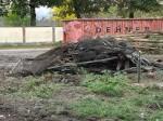 Die Reste der alten Vogelvolieren (Zoo Augsburg)