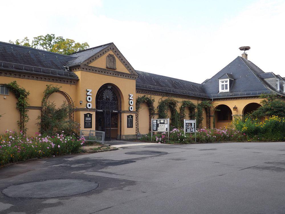 Eingang (Zoo Heidelberg)