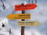 Schilder für die Meerschweinchen (Tierpark Hellabrunn)