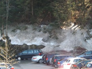 Schnee im Steinwasen-Park