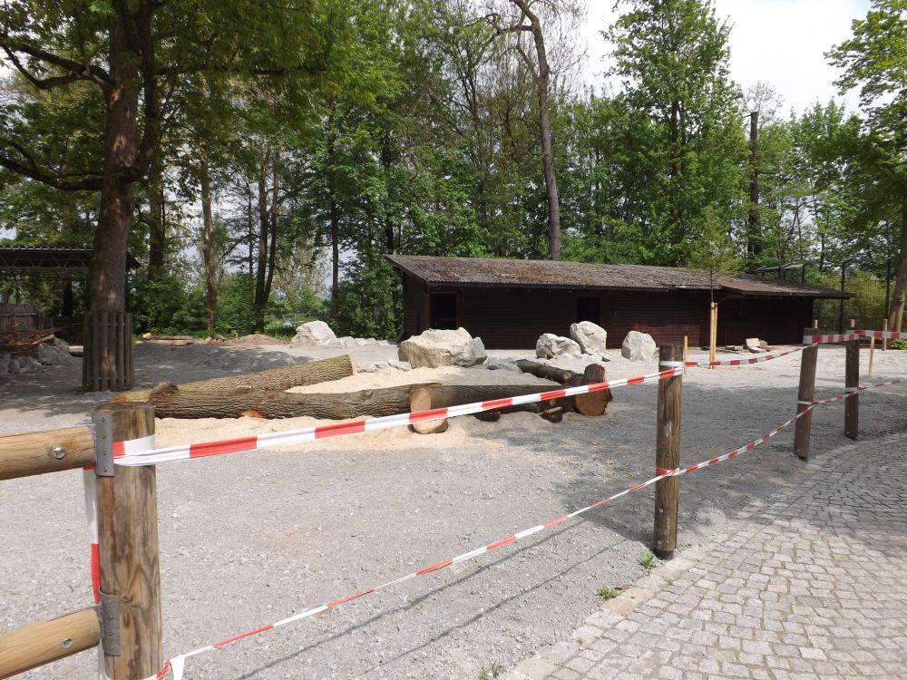 Eselgehege (Tiergarten Straubing)