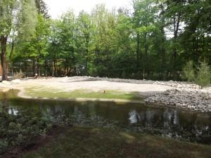 Giraffensavanne, Baustelle (Tierpark Hellabrunn)