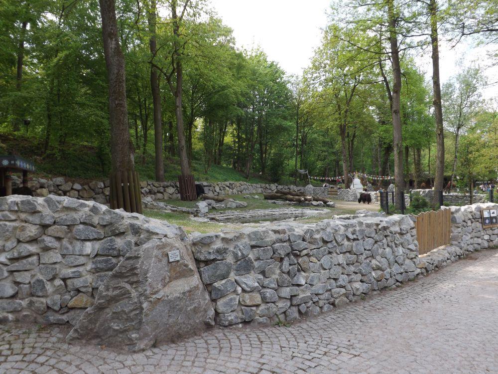 Yakanlage (Tiergarten Straubing)