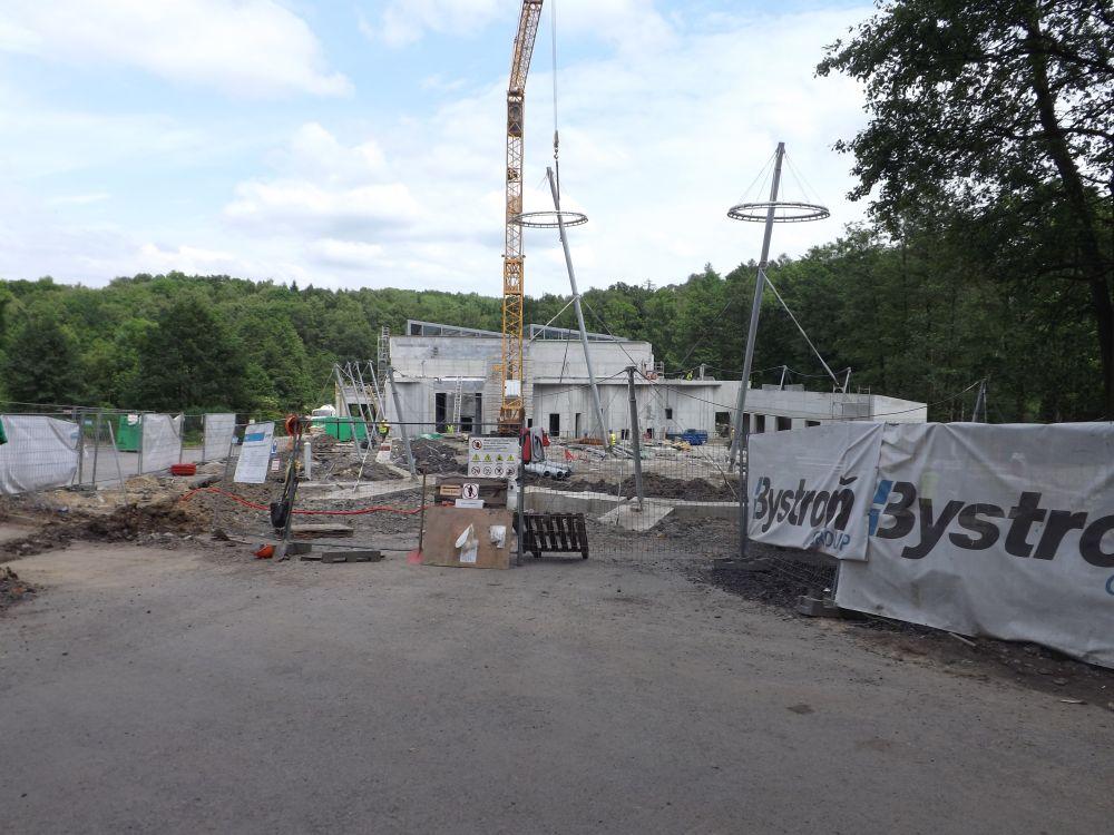 Baustelle im Zoo Ostrava