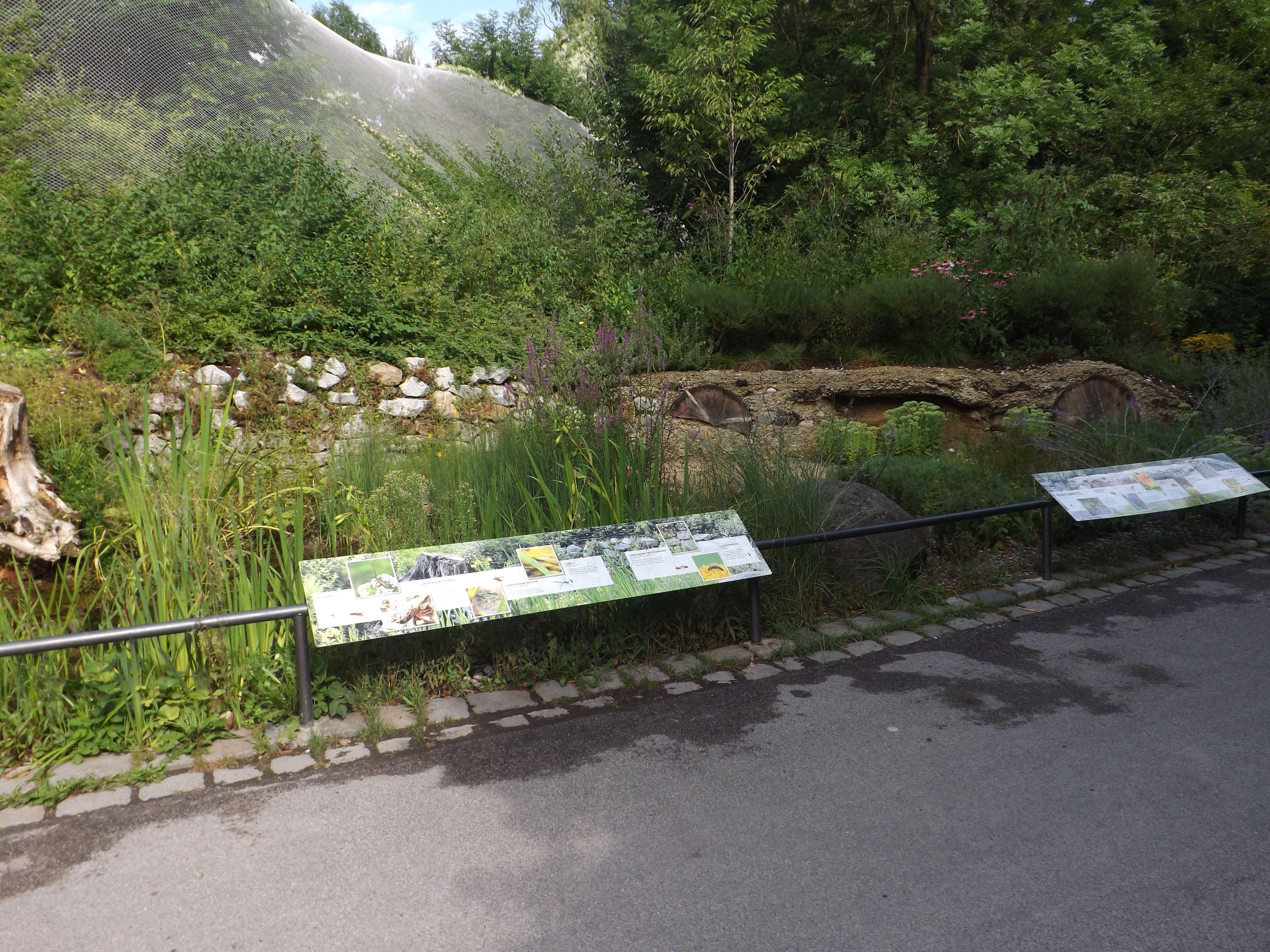 Totholz- und Feuchtbiotop (Tierpark Hellabrunn)