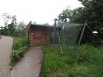 Anlage für Kampfläufer, Spießenten und Austernfischer (Zoo Brno)