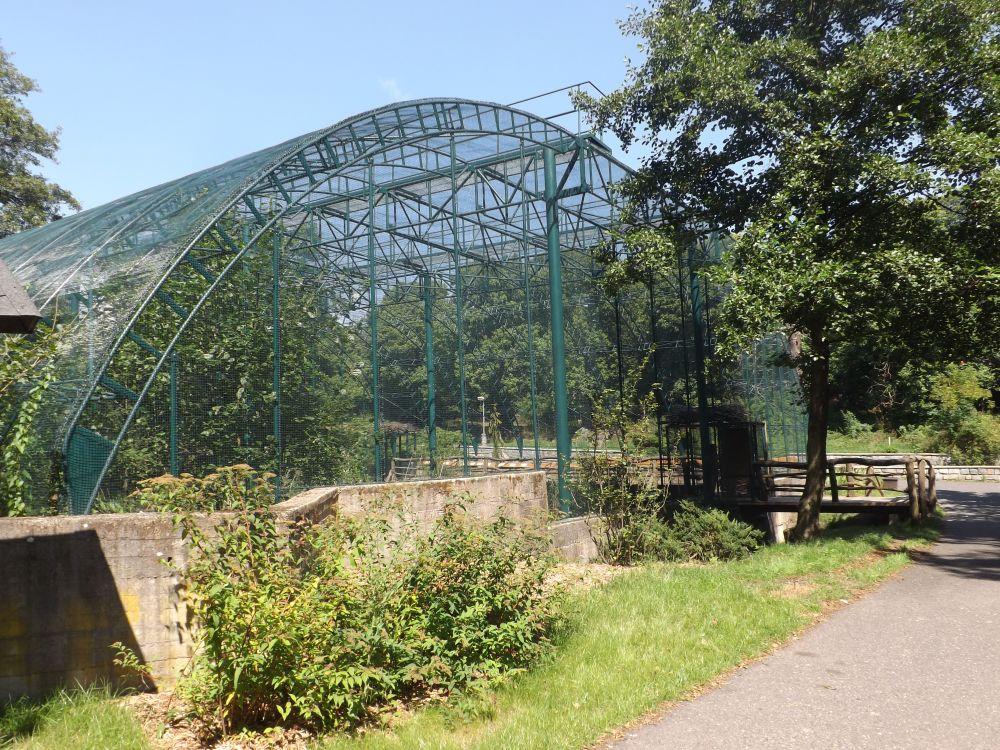Kleinvogelvoliere (Zoopark Chomutov)