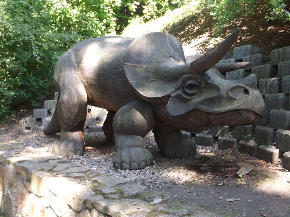 Triceratos (Zoo Usti)