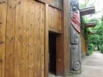 """""""Eingang"""" zum Wolfsgehege (Zoo Brno)"""