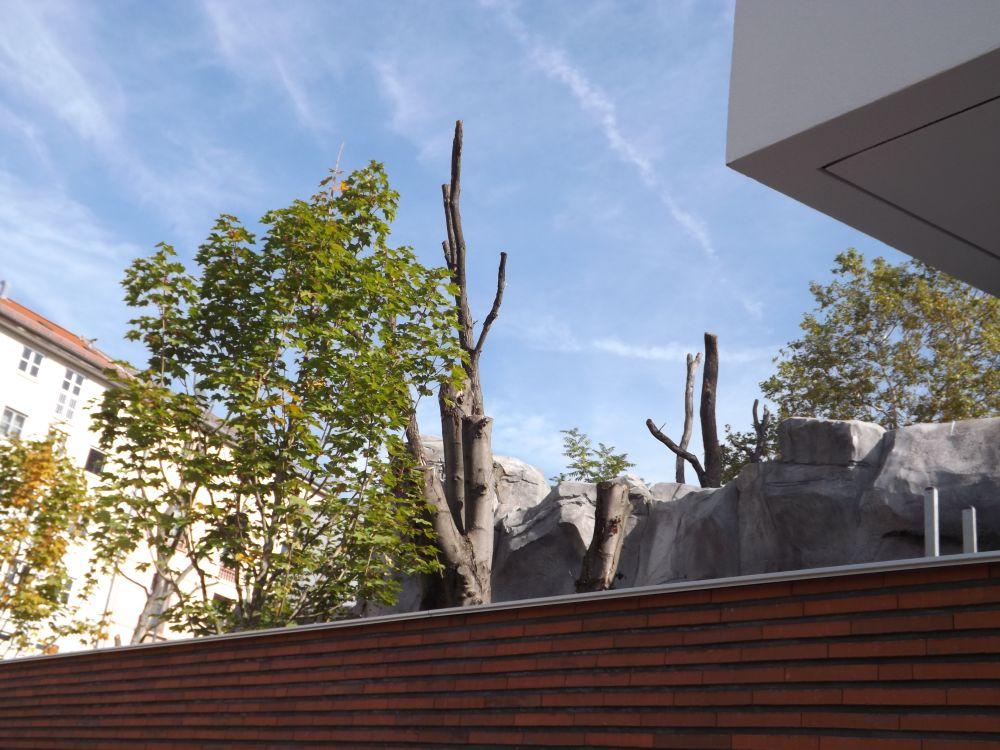 Ukumari-Land von außen (Zoo Frankfurt)
