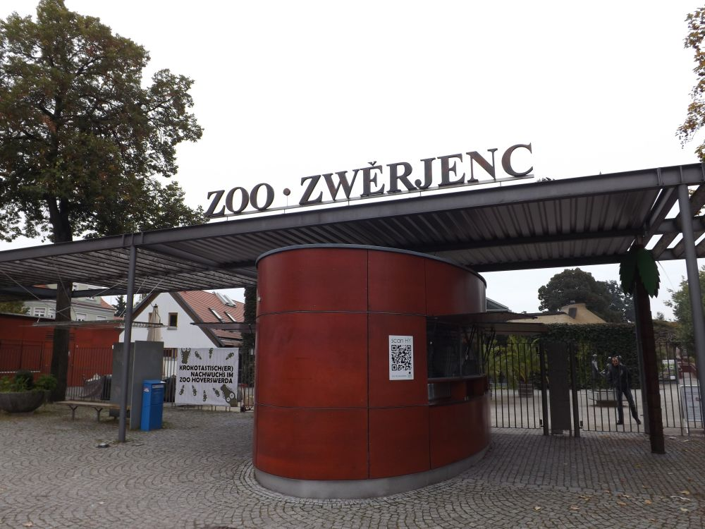 Eingang (Zoo Hoyerswerda)
