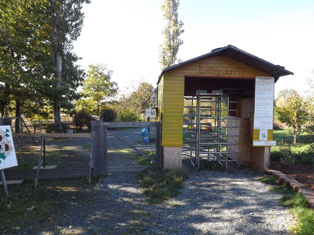 Eingang (Tierpark Gleitsbachtal)