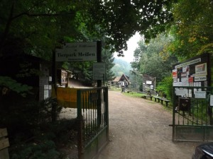 Eingang (Tierpark Siebeneichen)