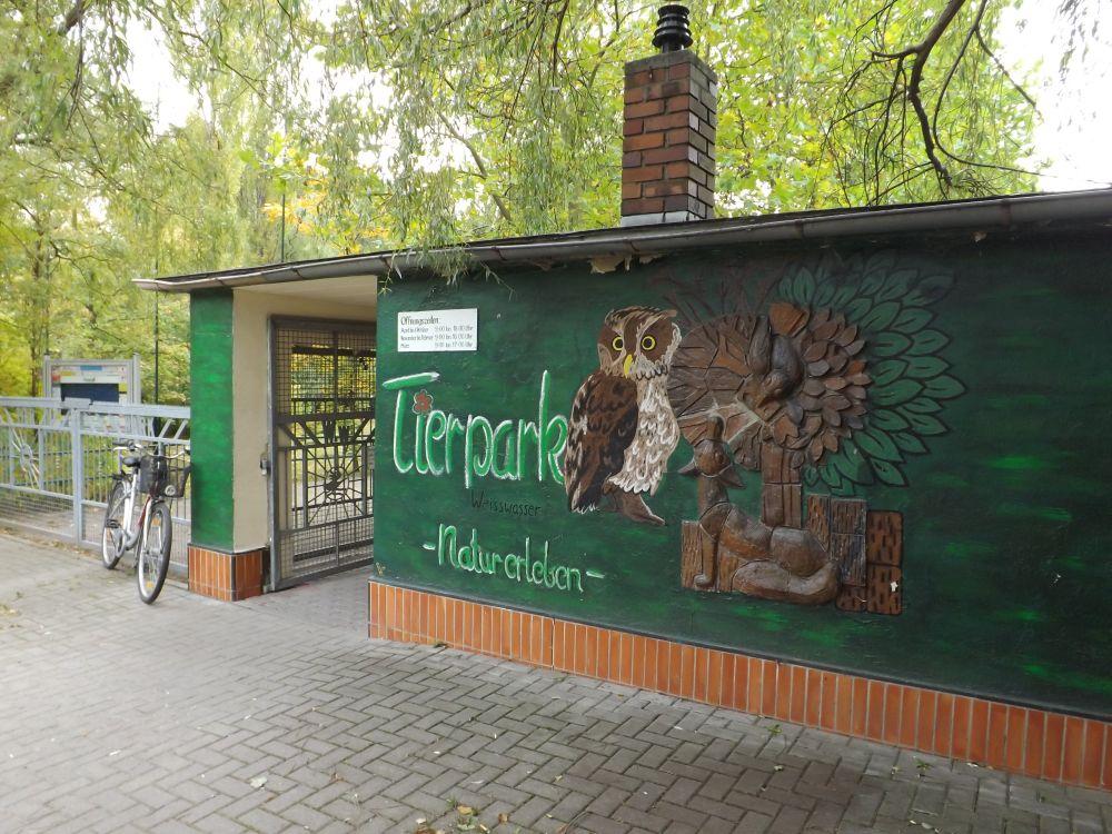 Eingang (Tierpark Weißwasser)