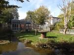 Schopfmakakenanlage, Außenansicht (Vivarium Darmstadt)