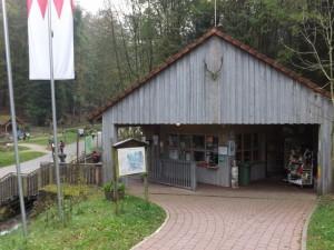 Eingang (Wildpark Hundshaupten)
