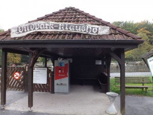 Eingang (Wildpark Klaushof)