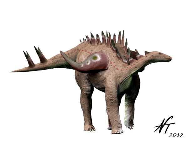 Gigantspinosaurus sichuanensis (© N. Tamura)