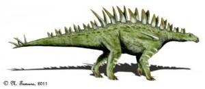 Huayangosaurus taibaii  (© N. Tamura)
