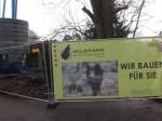 Umbau am Eingang (Alte Fasanerie Hanau)