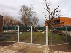 Neue Waschbärenanlage (Zoo Heidelberg)