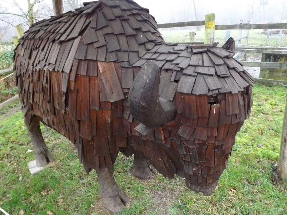Wisentskulptur (Alte Fasanerie Hanau)