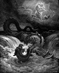 Die Vernichtung des Leviathan (Gustave Doré)