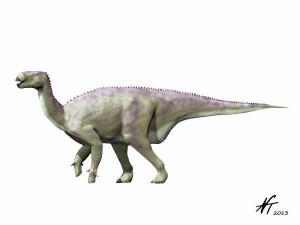 Iguanodon bernissartensis (© N. Tamura)