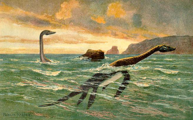 Plesiosaurus (Heinrich Harder)