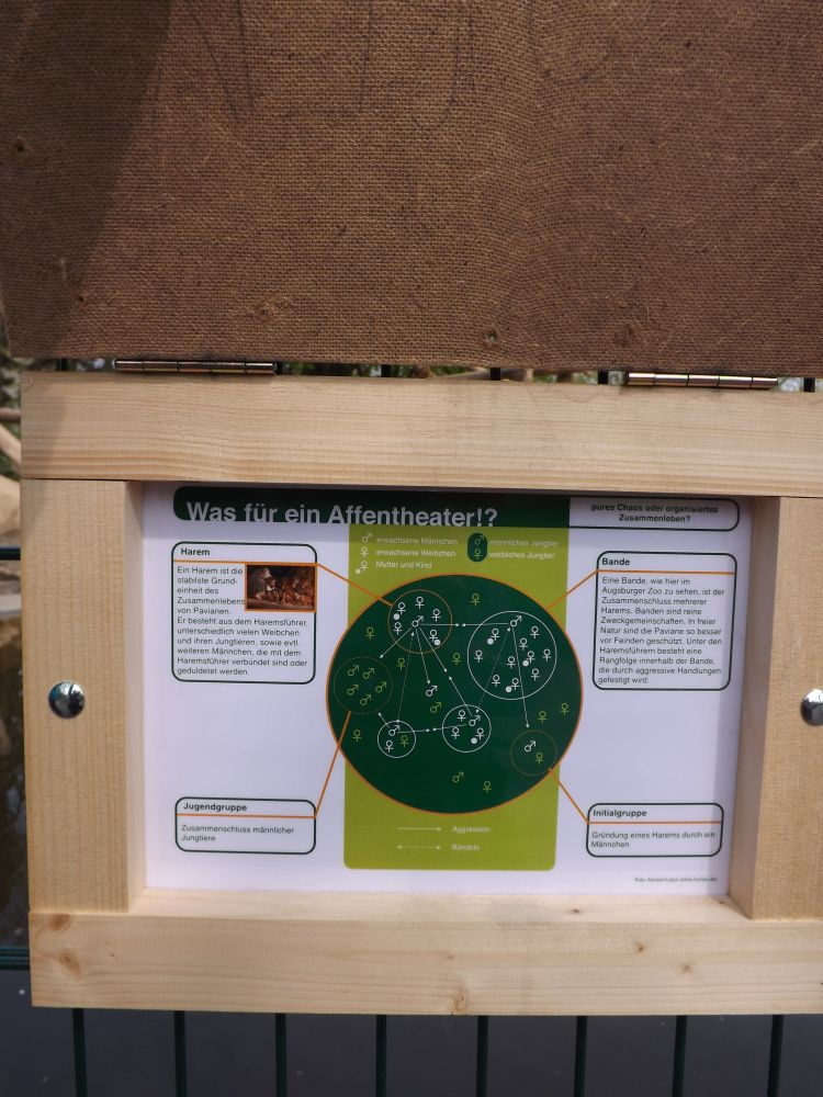 Neue Informationstafeln (Zoo Augsburg)