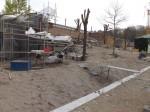 Baustelle Außenanlage für Menschenaffen (Tierpark Hellabrunn)