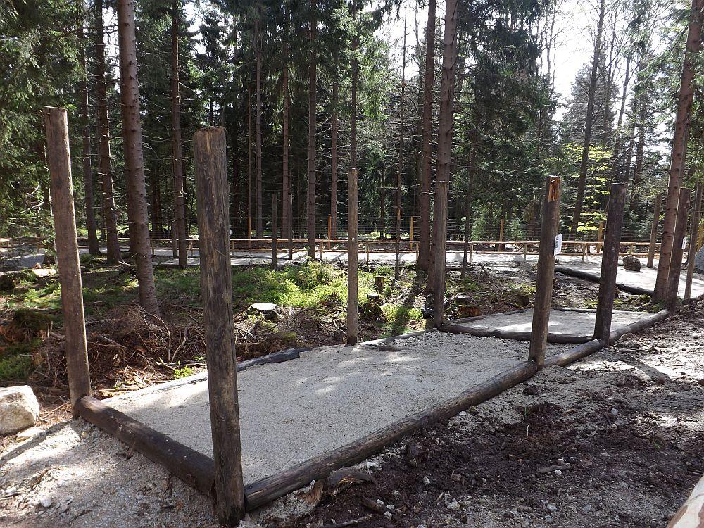 Baustelle: Dachsgehege (Wildpark Mehlmeisel)