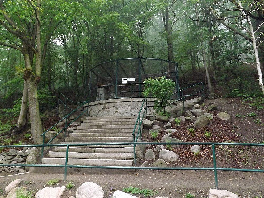 Bartkauzanlage (Wildpark Christianental)