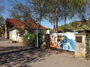 Eingang (Tierpark Bad Kösen)