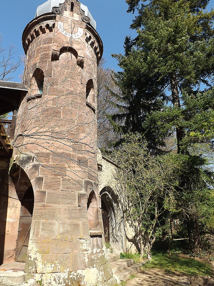 Turm im Tiergarten Eisenberg