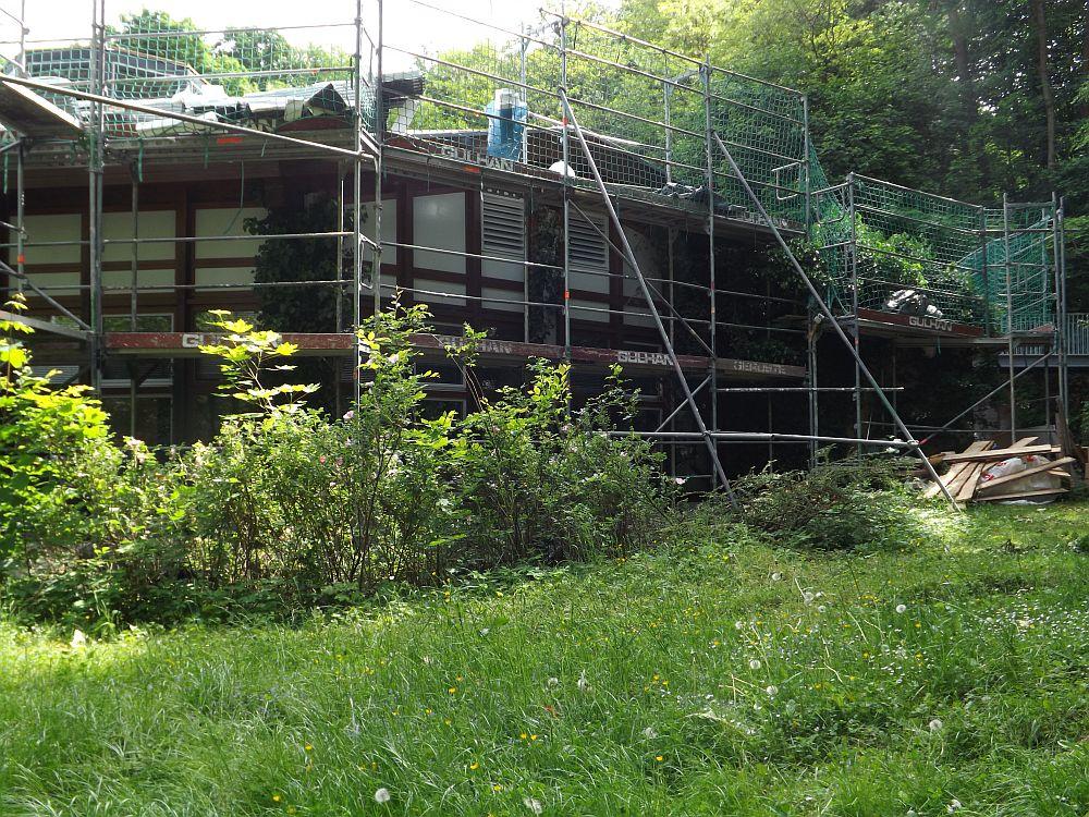 Baustelle Naturkundehaus (Tiergarten Nürnberg)