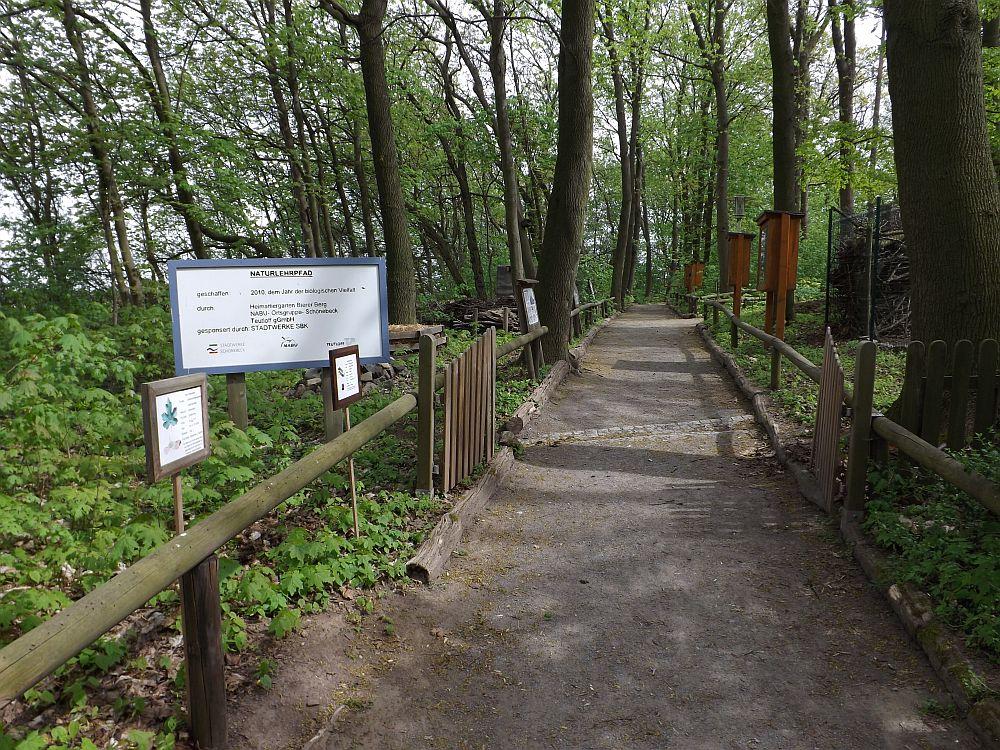 Naturlehrpfad (Heimattiergarten Bierer Berg)