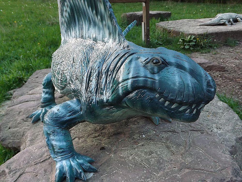 Dimetrodon teutonis (Sauriererlebnispfad Georgenthal)