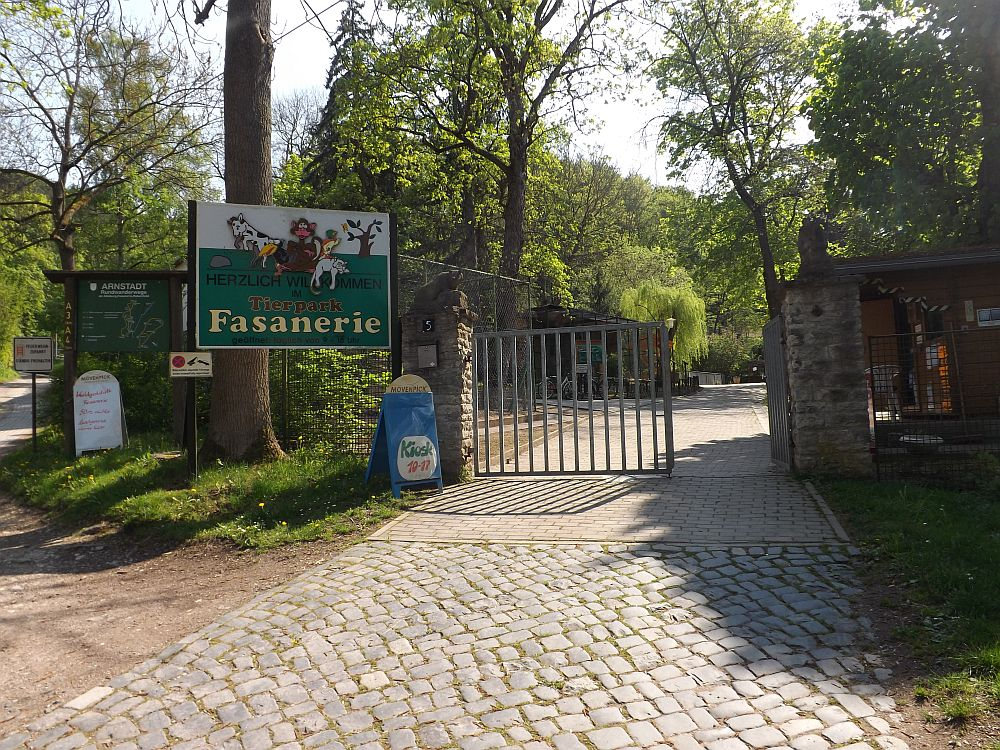 Eingang (Tierpark Arnstadt)