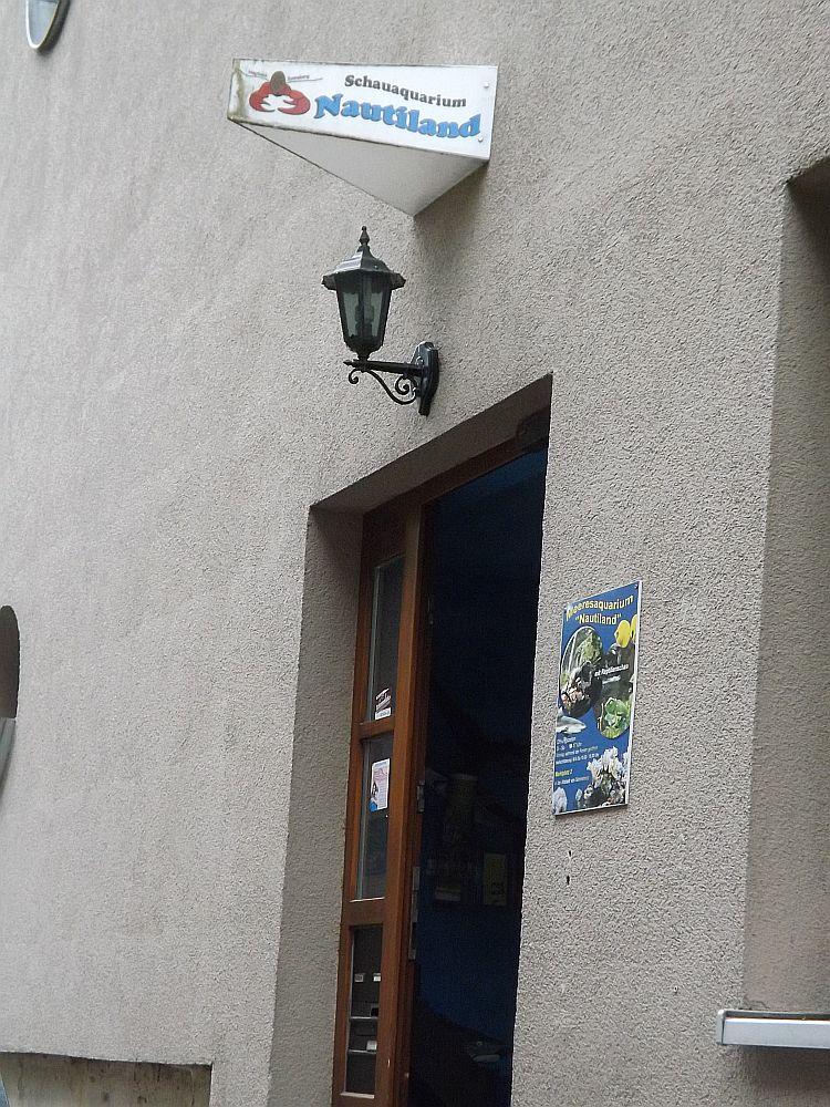 Eingang (Meeresaquarium Nautiland)