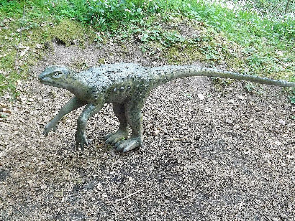 Emausaurus ernsti (Sauriererlebnispfad Georgenthal)